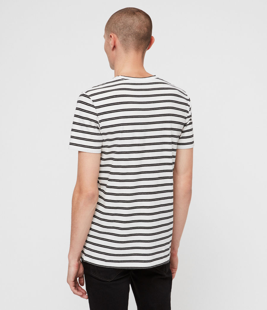 Men's Ange Crew T-shirt (chalk_white_black) - Image 4