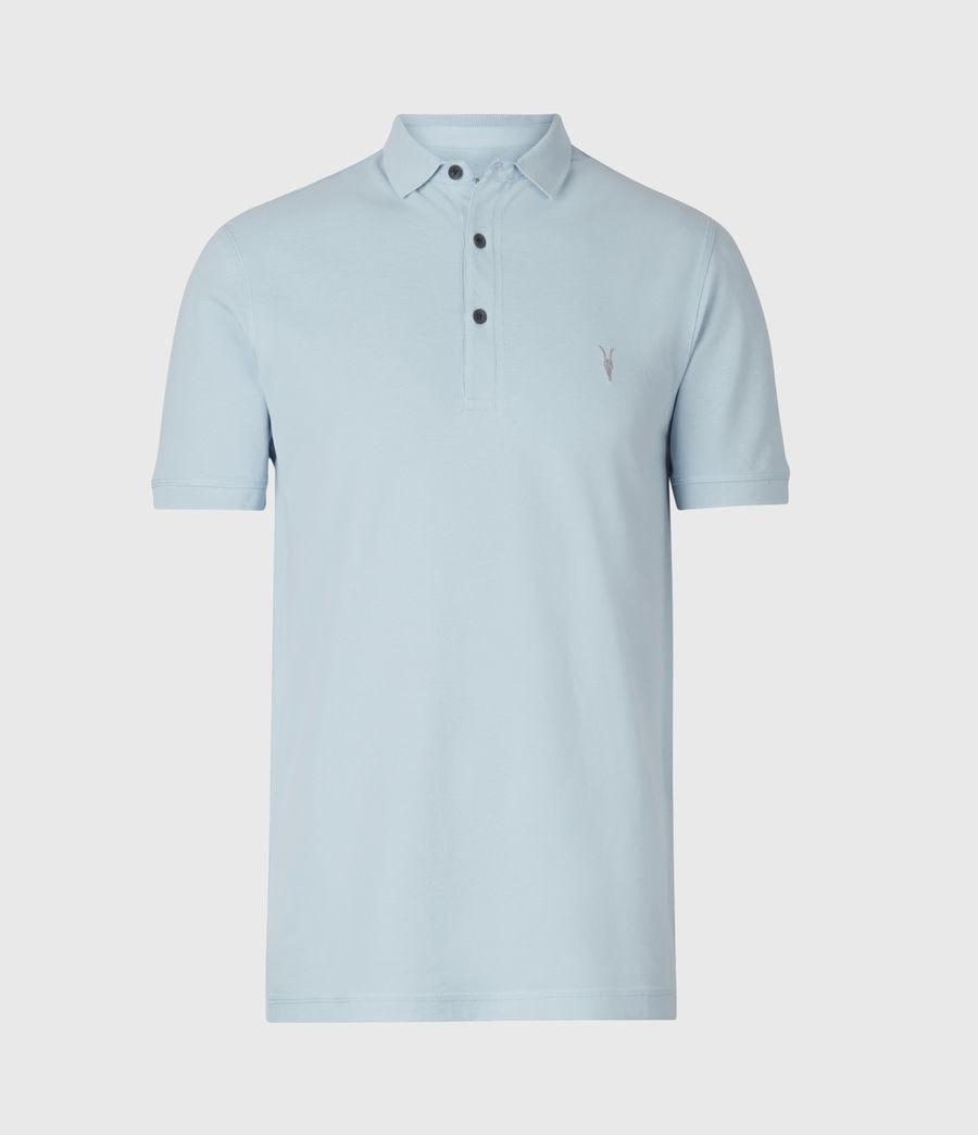 Herren Reform Short Sleeve Polo Shirt (pacific_blue) - Image 2