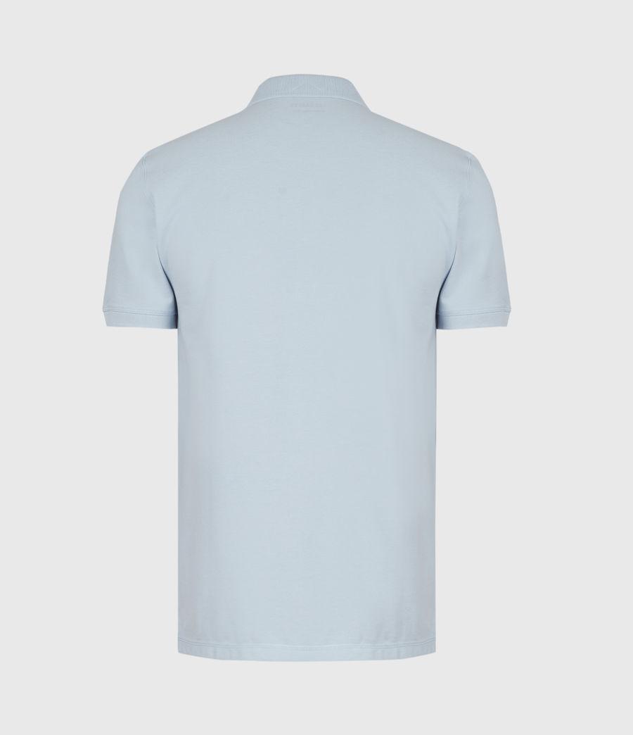 Herren Reform Short Sleeve Polo Shirt (pacific_blue) - Image 3