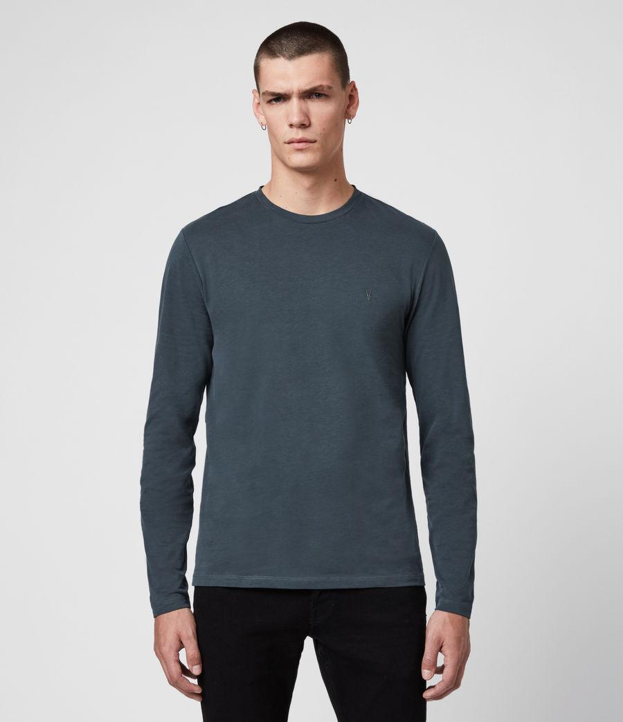 Mens Brace Tonic Crew T-Shirt (petroleum_navy) - Image 1