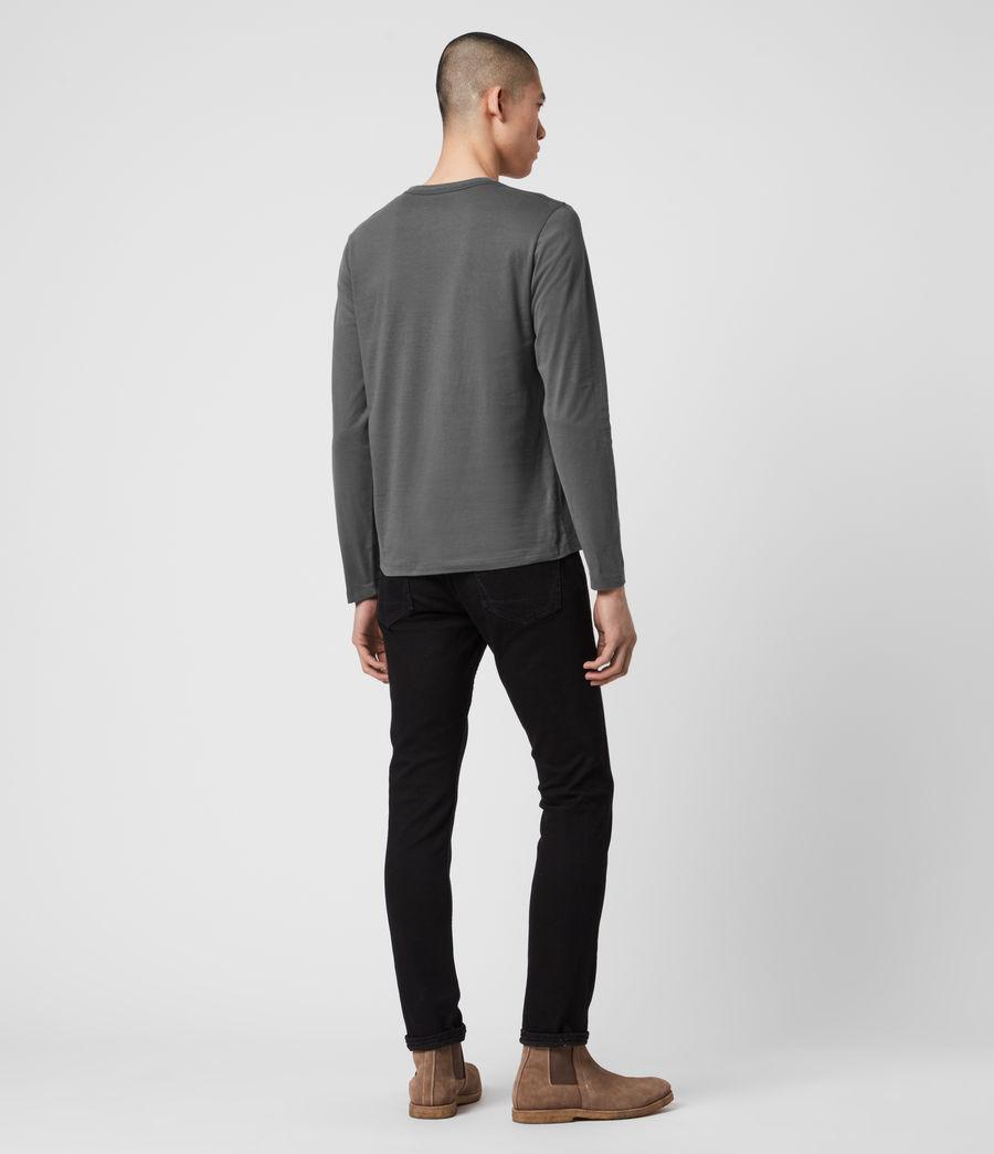 Herren Brace Long Sleeve Tonic Crew T-Shirt (alp_grey) - Image 4