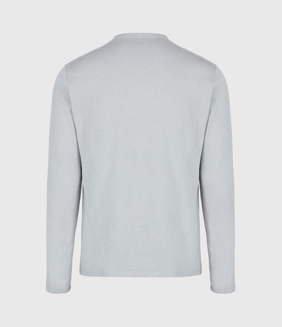 Herren Brace Tonic Long Sleeve Crew T-Shirt (parma_grey) - Image 3