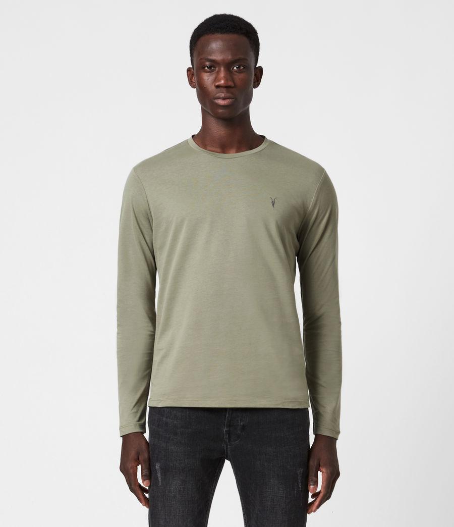 Herren Brace Tonic Langarmshirt (vine_green) - Image 1