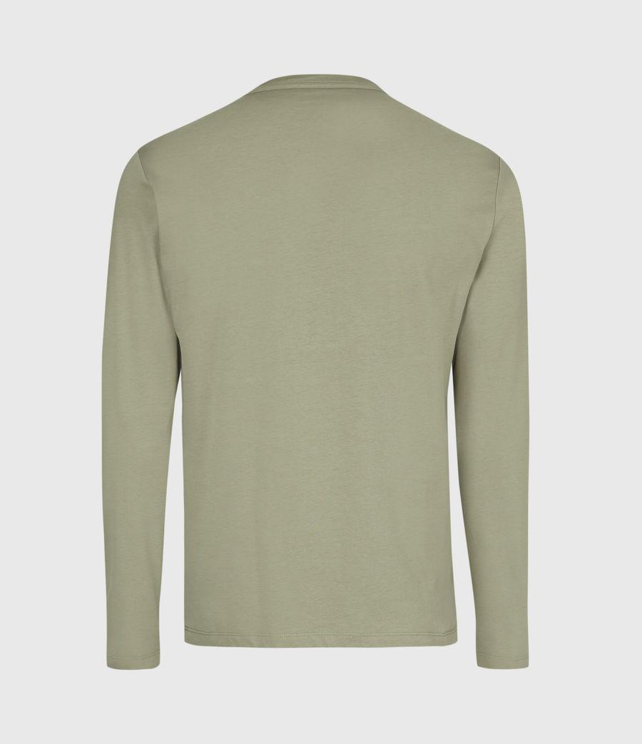 Herren Brace Tonic Langarmshirt (vine_green) - Image 3