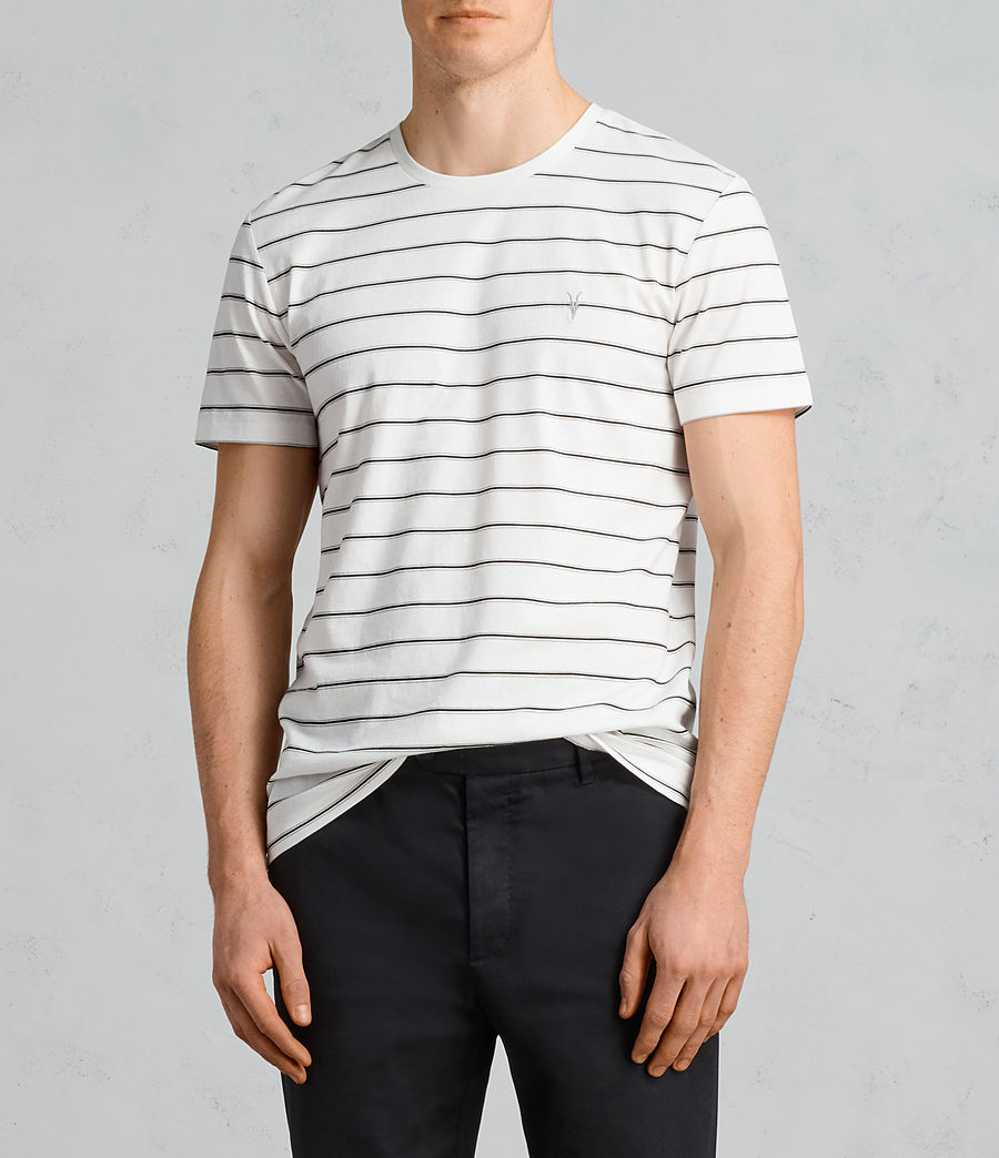 Men's Tonic Dean Crew T-Shirt (chalk_white_black) - Image 1