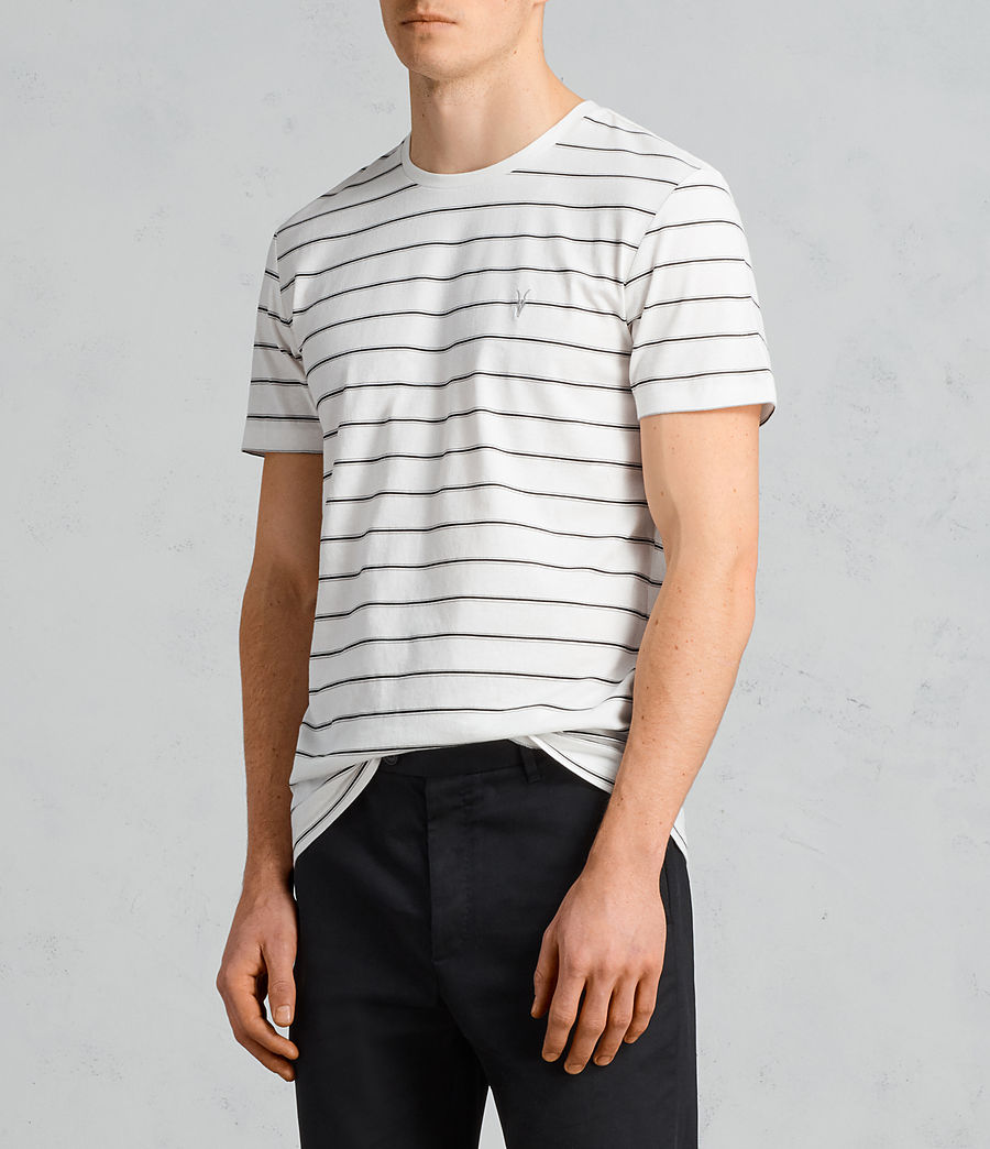 Men's Tonic Dean Crew T-Shirt (chalk_white_black) - Image 3
