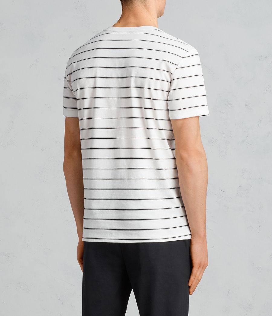 Hombre Camiseta Tonic Dean (chalk_white_black) - Image 4