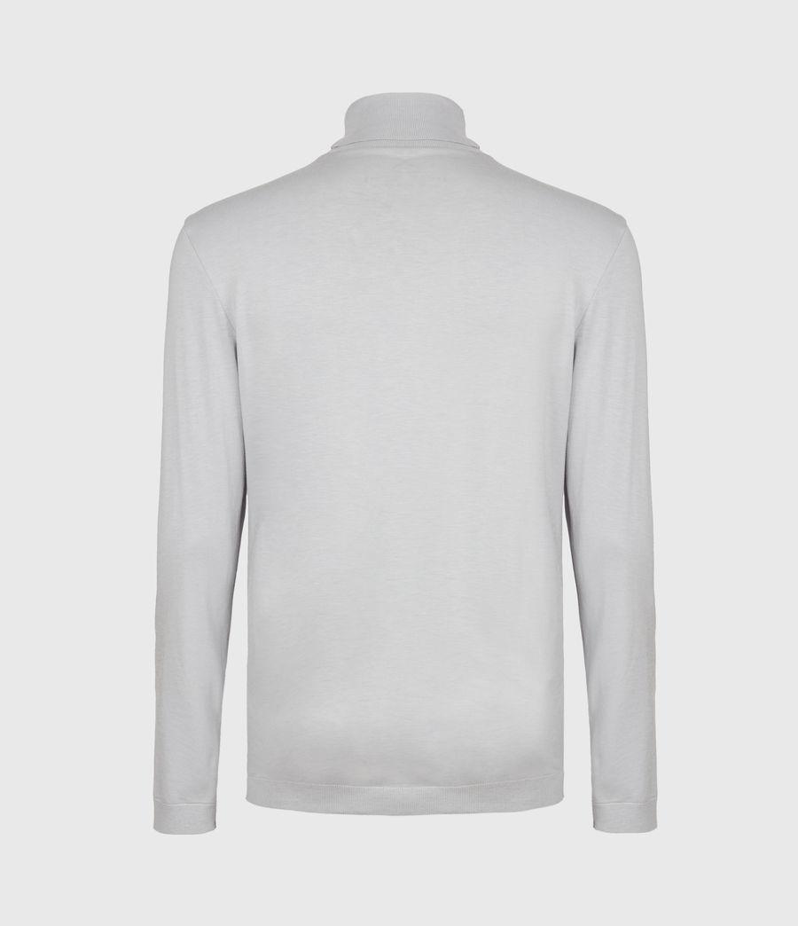 Men's Parlour Roll Neck Top (heath_grey) - Image 3