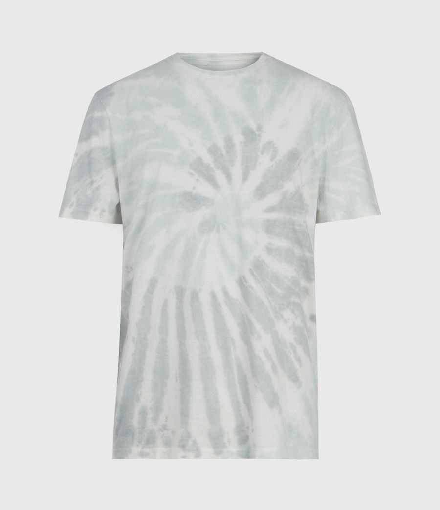 Mens Tucker Tie Dye Crew T-Shirt (light_grey) - Image 1