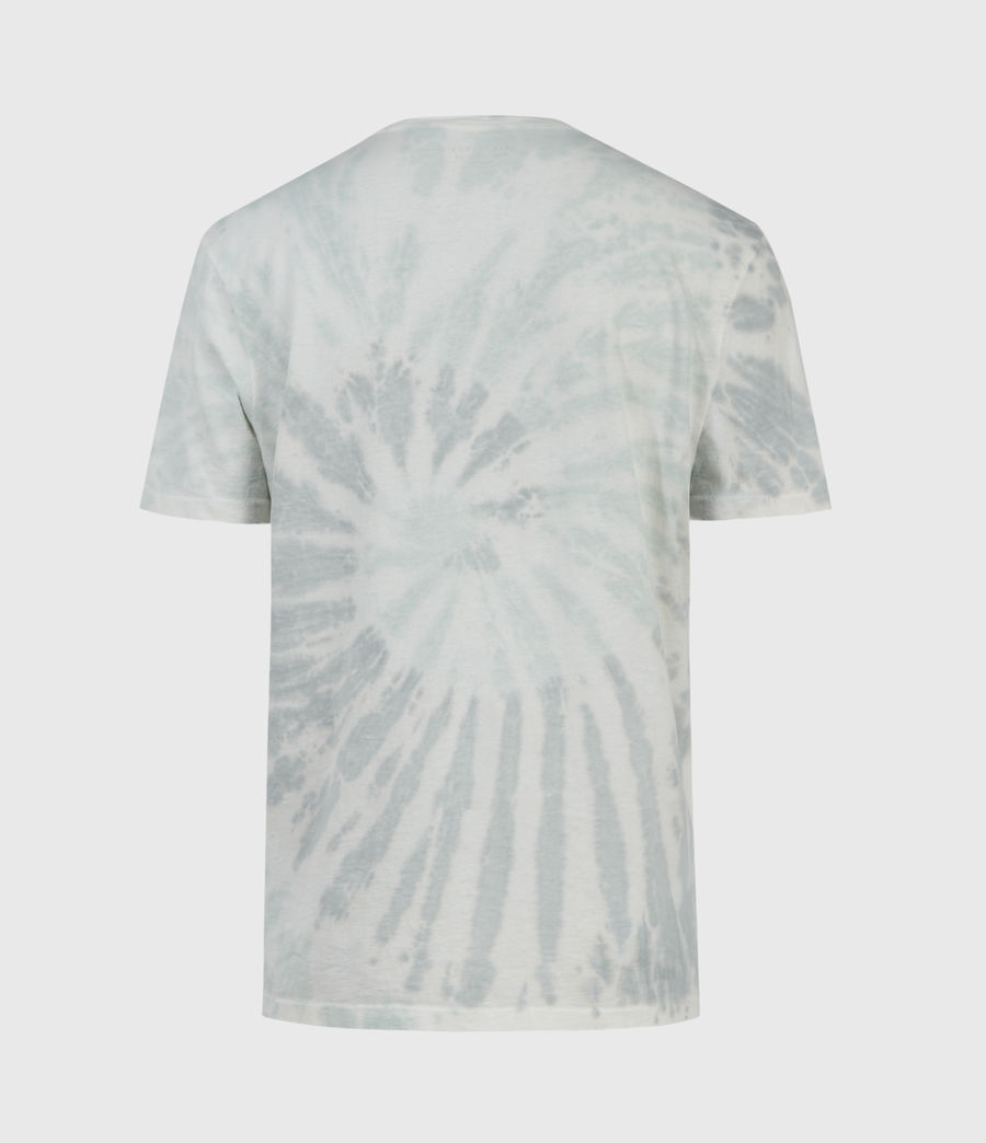 Mens Tucker Tie Dye Crew T-Shirt (light_grey) - Image 2