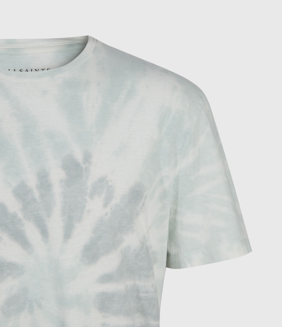 Mens Tucker Tie Dye Crew T-Shirt (light_grey) - Image 3