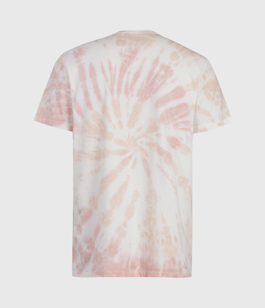 Mens Tucker Tie Dye Crew T-Shirt (light_pink) - Image 2