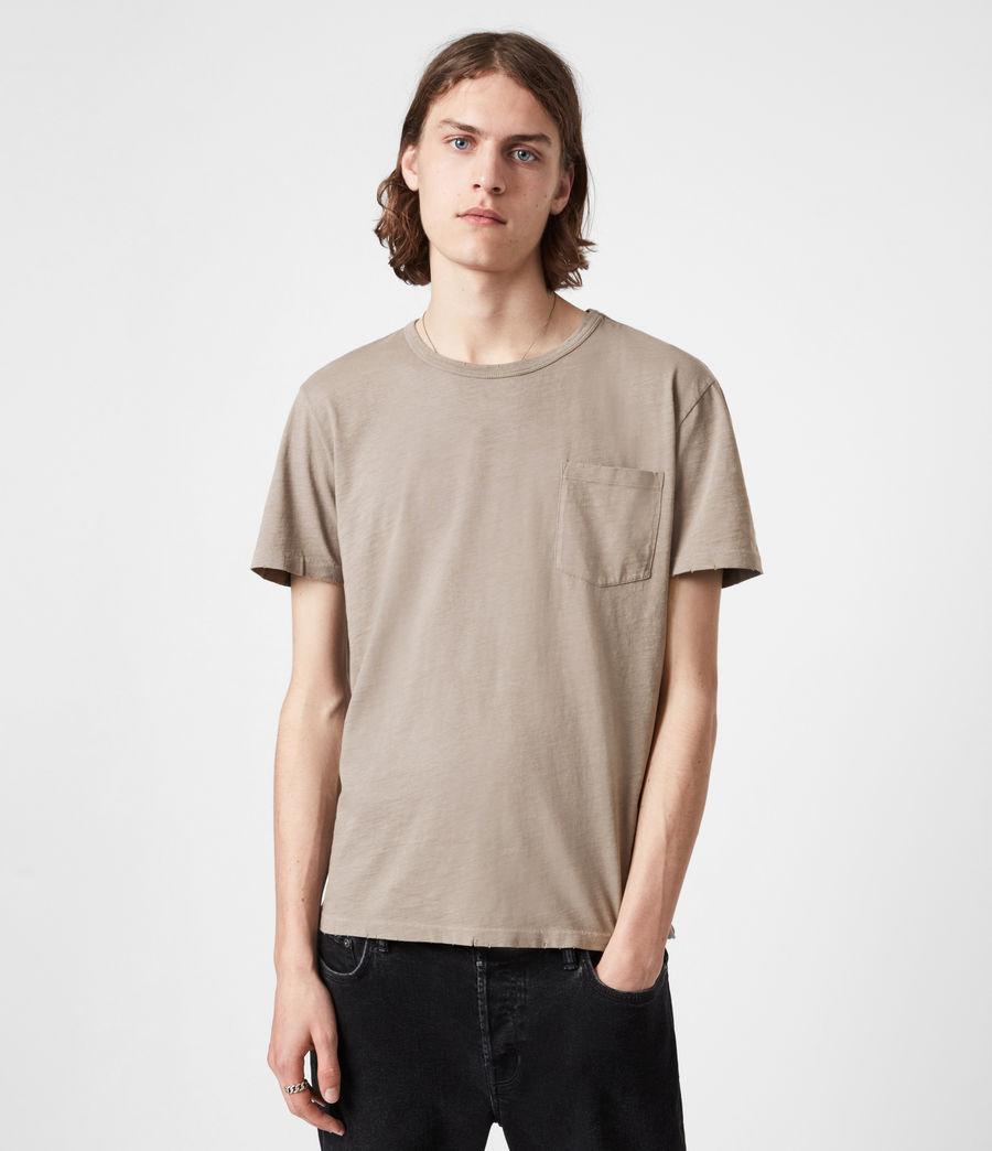 Mens Gage Crew T-Shirt (pewter_grey) - Image 1