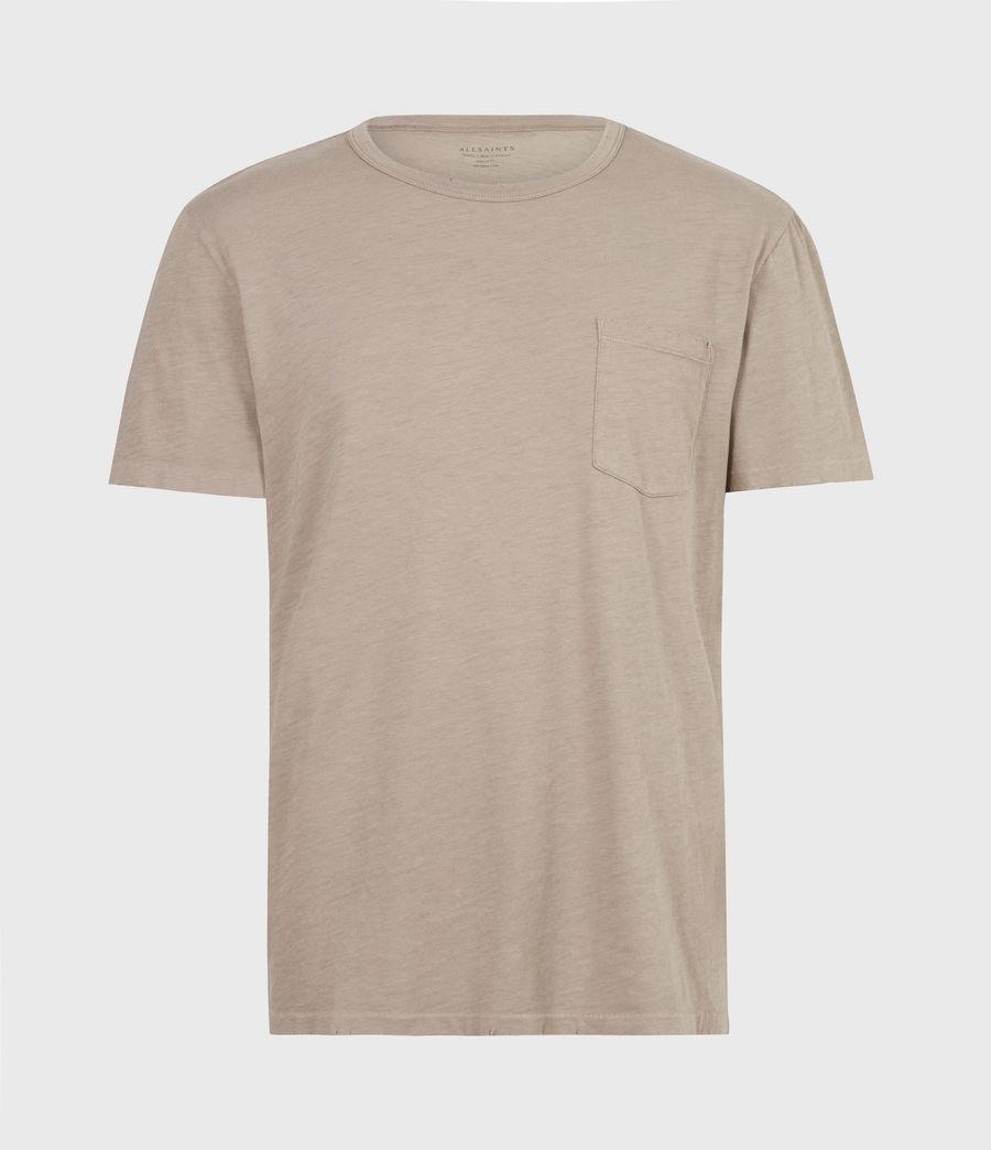 Mens Gage Crew T-Shirt (pewter_grey) - Image 2