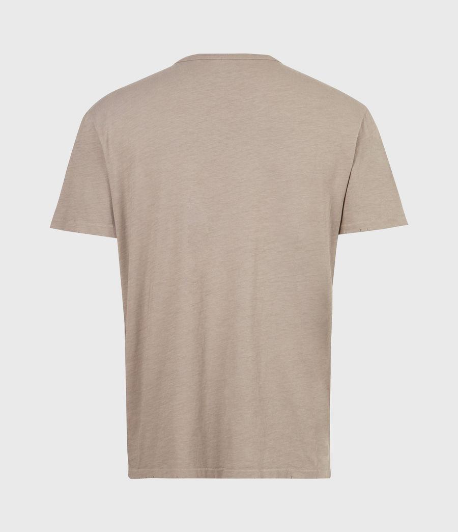 Mens Gage Crew T-Shirt (pewter_grey) - Image 3