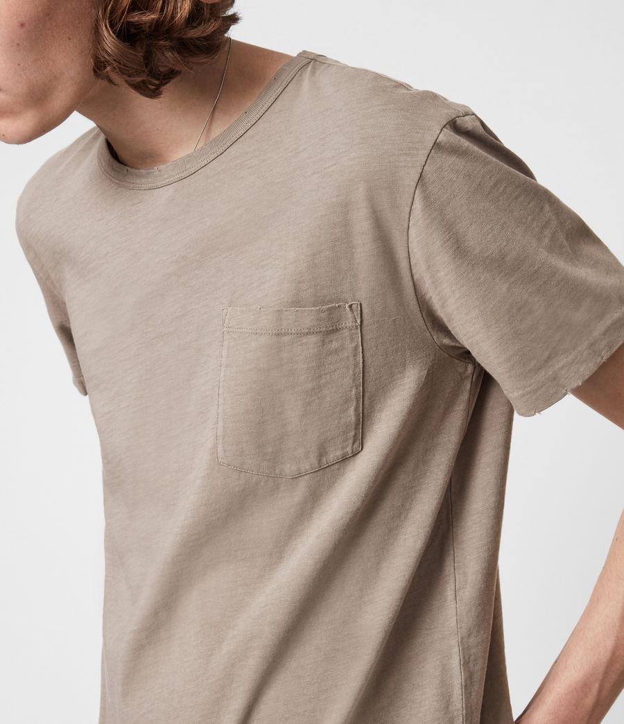 Mens Gage Crew T-Shirt (pewter_grey) - Image 4