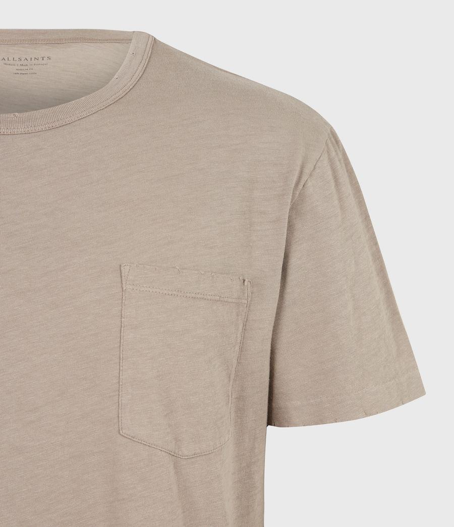 Mens Gage Crew T-Shirt (pewter_grey) - Image 5
