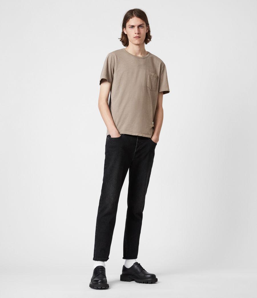 Mens Gage Crew T-Shirt (pewter_grey) - Image 6