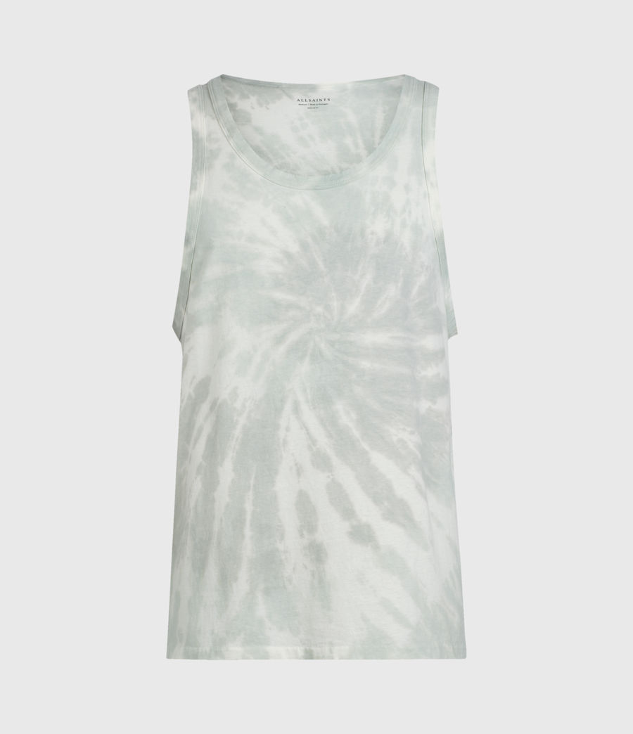 Mens Tucker Tie Dye Vest (light_grey) - Image 1
