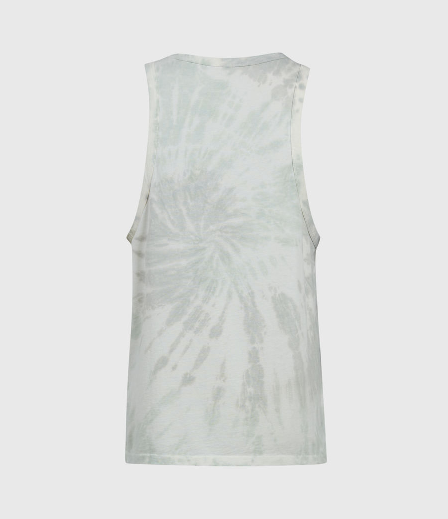 Mens Tucker Tie Dye Vest (light_grey) - Image 2