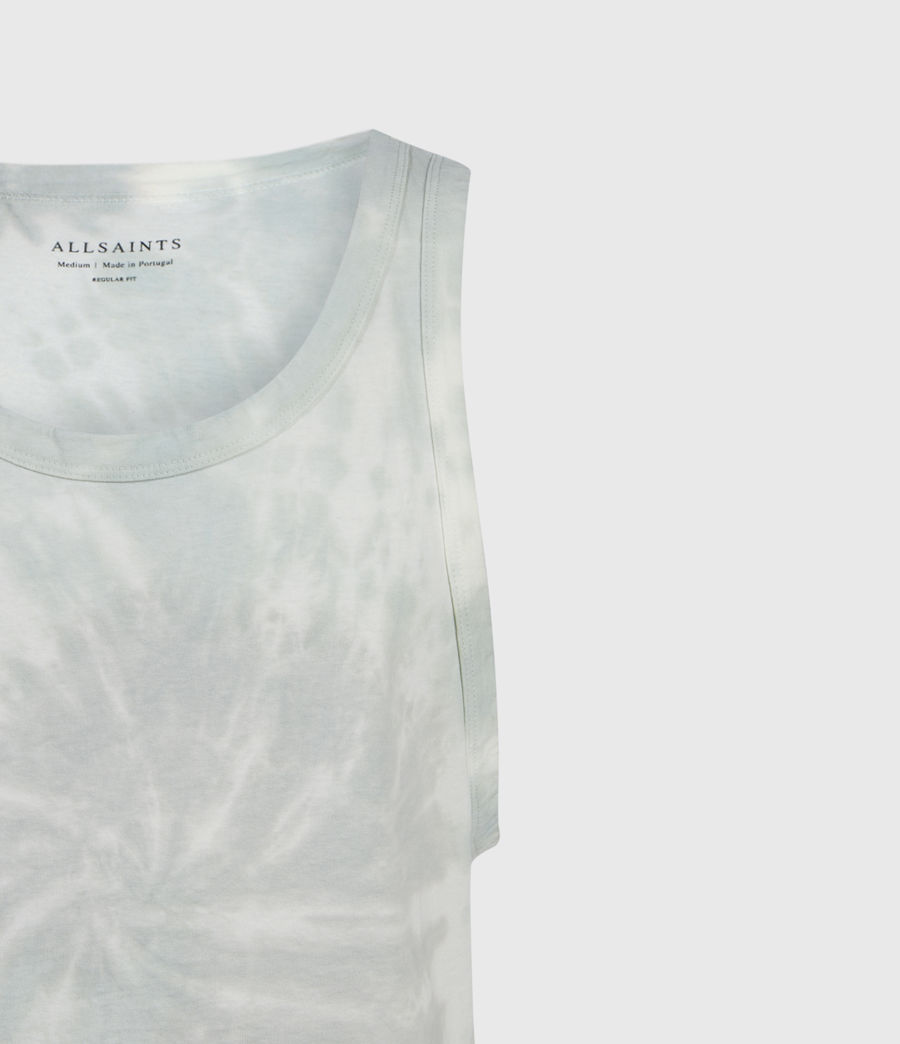 Mens Tucker Tie Dye Vest (light_grey) - Image 3