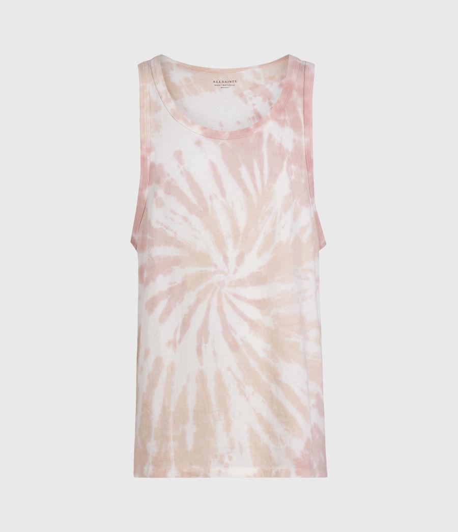 Mens Tucker Tie Dye Vest (light_pink) - Image 1