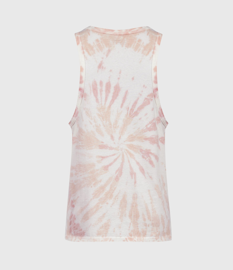 Mens Tucker Tie Dye Vest (light_pink) - Image 2