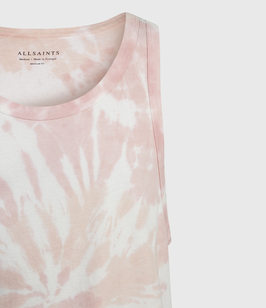 Men's Tucker Tie Dye Vest (light_pink) - Image 3