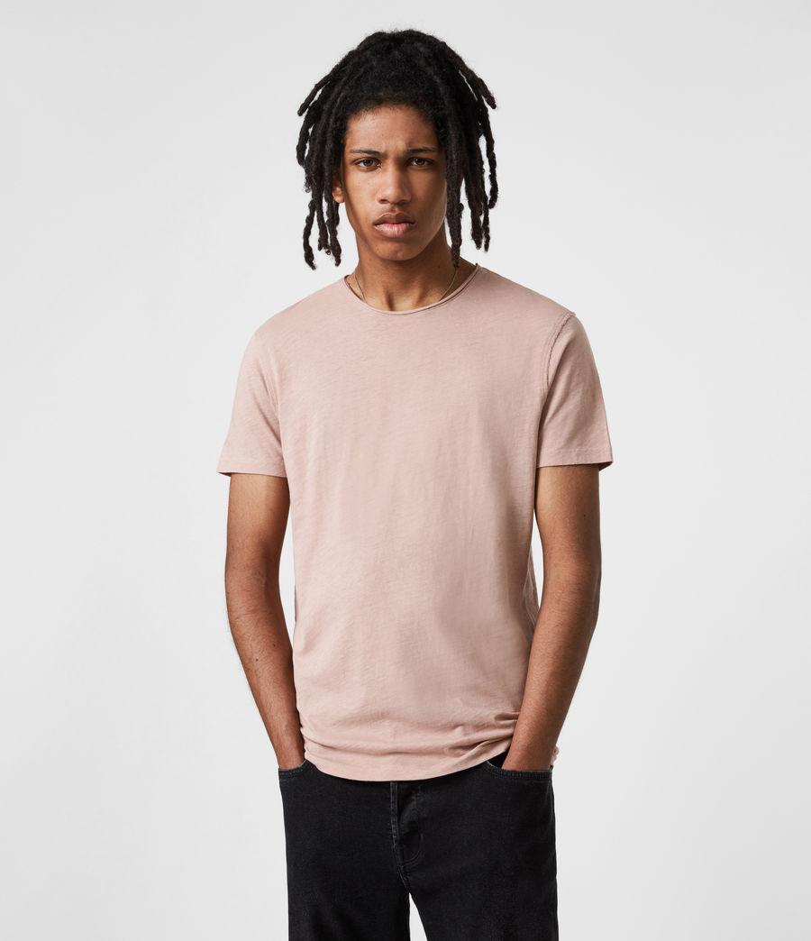 Mens Figure Crew T-Shirt (balsastone_pink) - Image 1