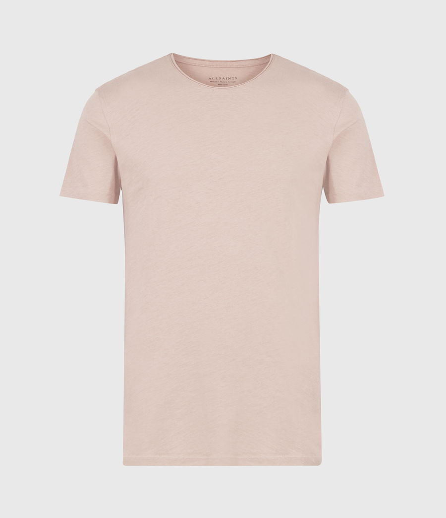 Mens Figure Crew T-Shirt (balsastone_pink) - Image 2