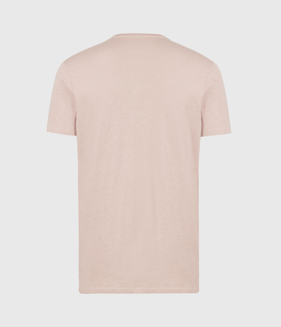 Mens Figure Crew T-Shirt (balsastone_pink) - Image 3