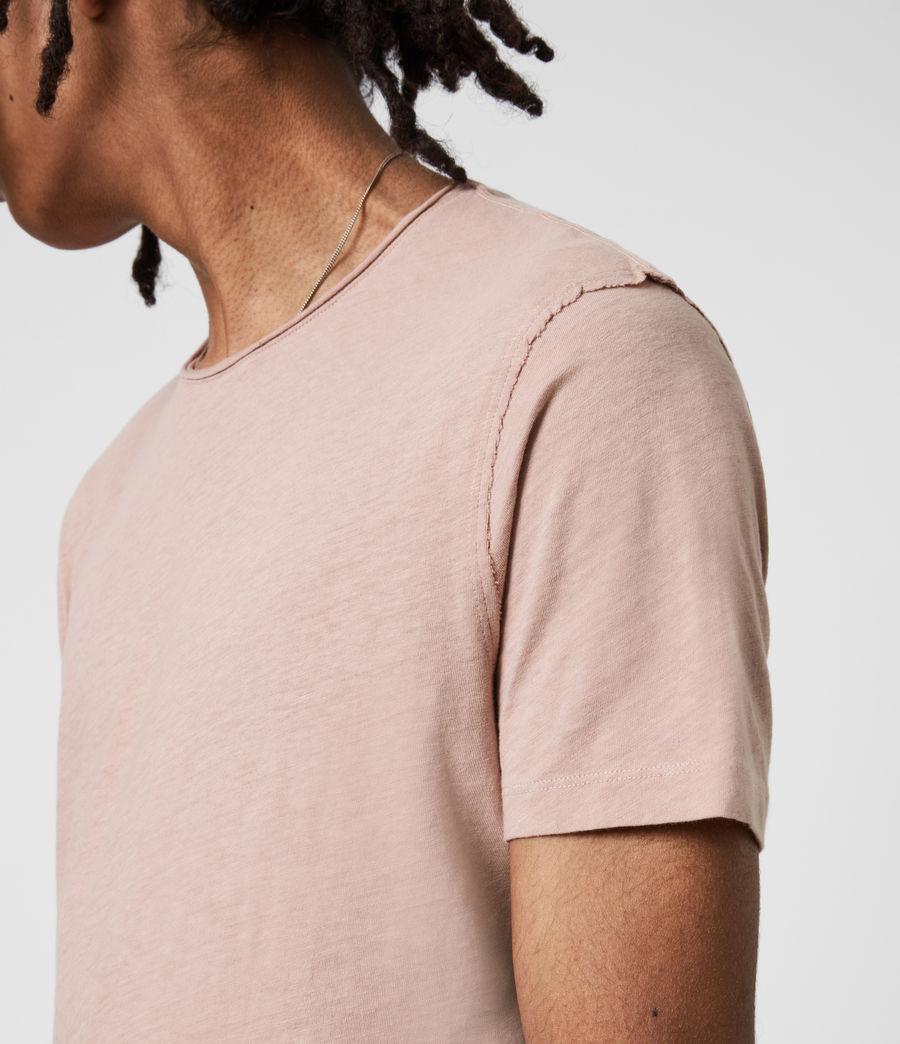 Mens Figure Crew T-Shirt (balsastone_pink) - Image 4