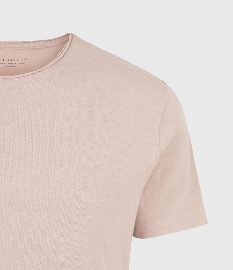 Mens Figure Crew T-Shirt (balsastone_pink) - Image 5