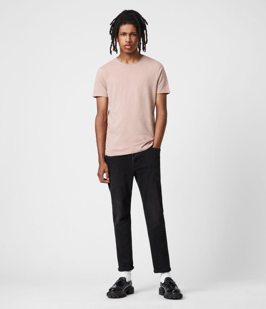 Mens Figure Crew T-Shirt (balsastone_pink) - Image 6