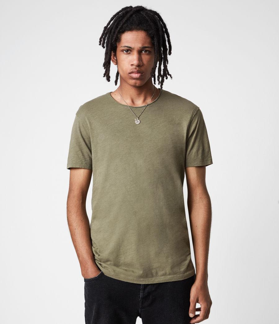 Mens Figure Crew T-Shirt (mangrove_brown) - Image 1