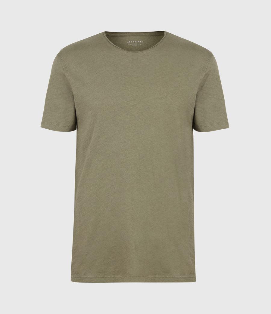 Mens Figure Crew T-Shirt (mangrove_brown) - Image 2
