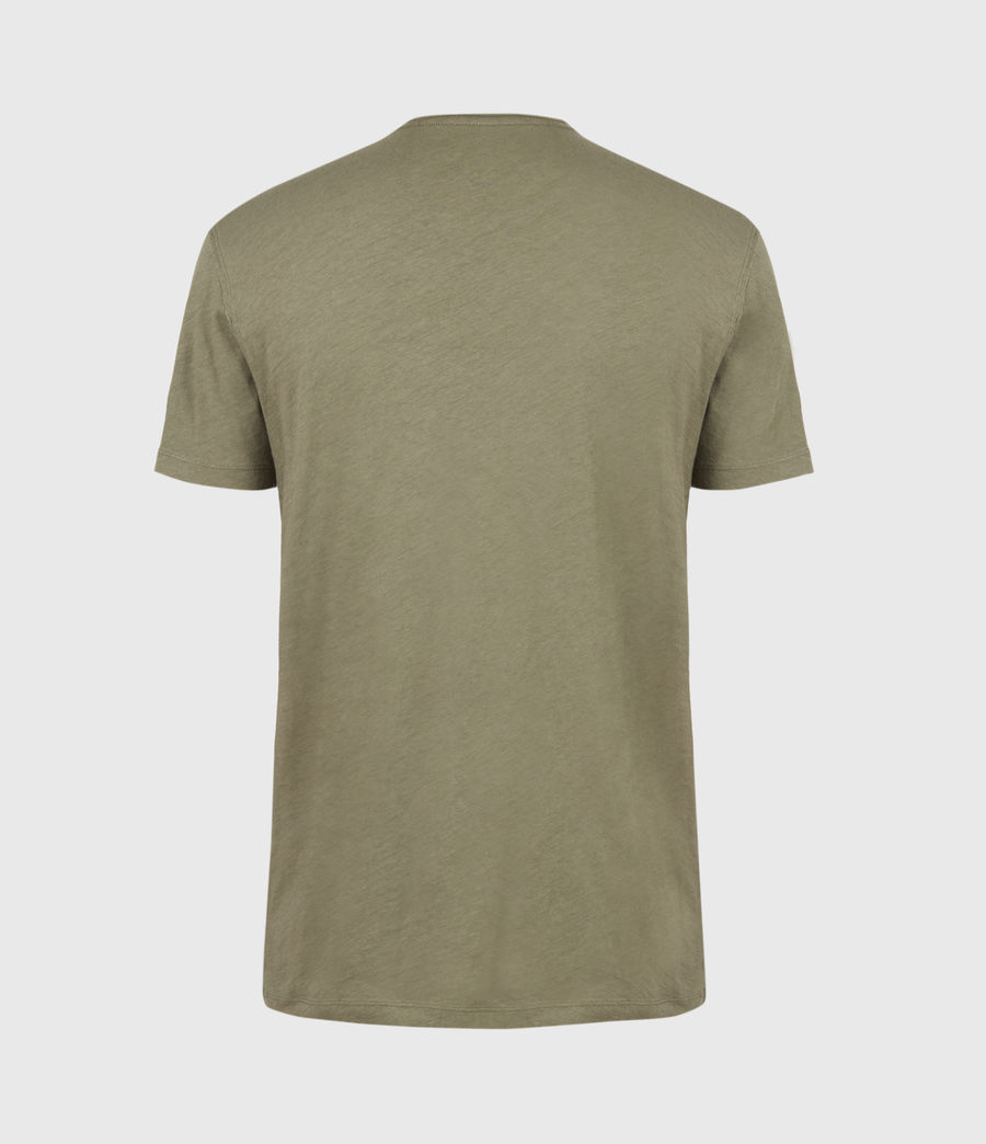 Mens Figure Crew T-Shirt (mangrove_brown) - Image 3
