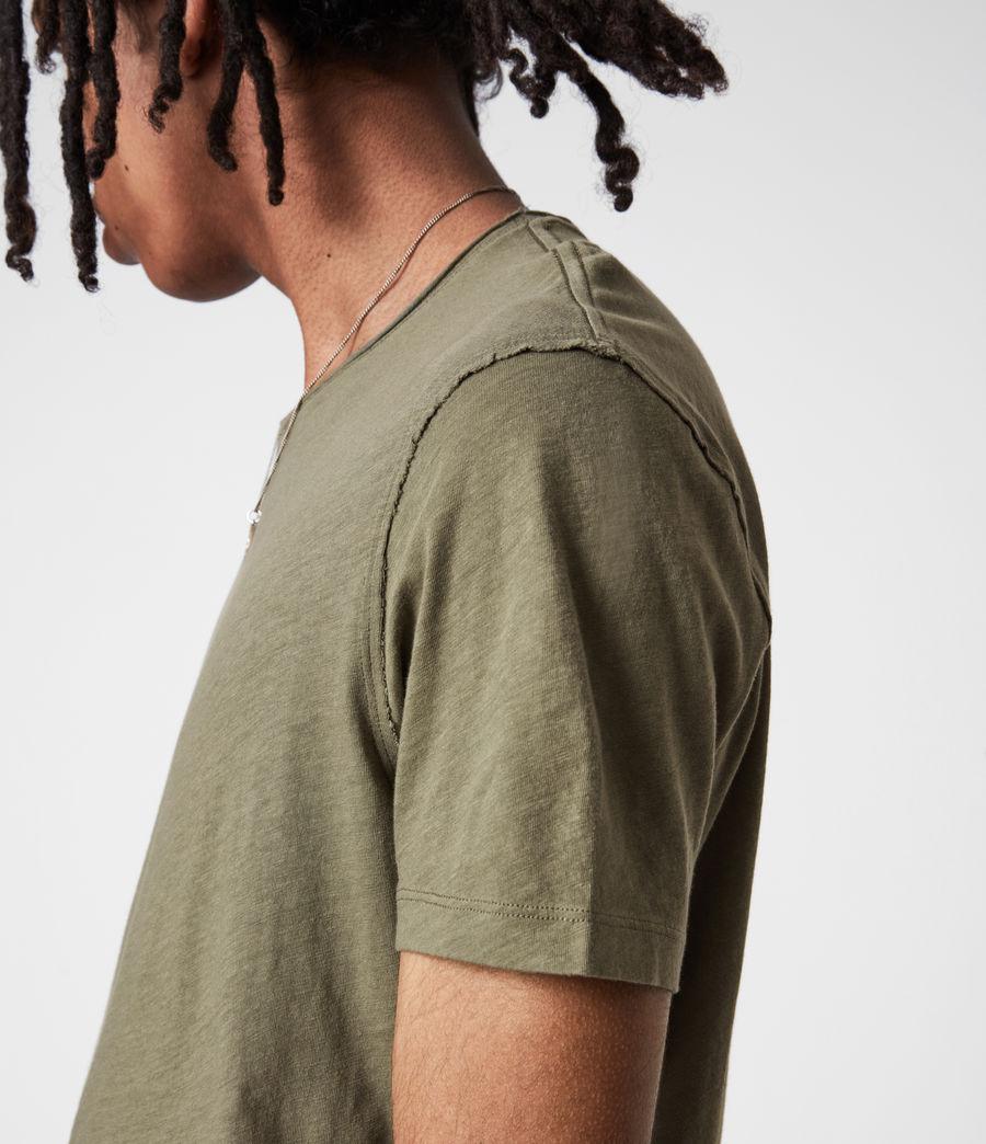 Mens Figure Crew T-Shirt (mangrove_brown) - Image 4