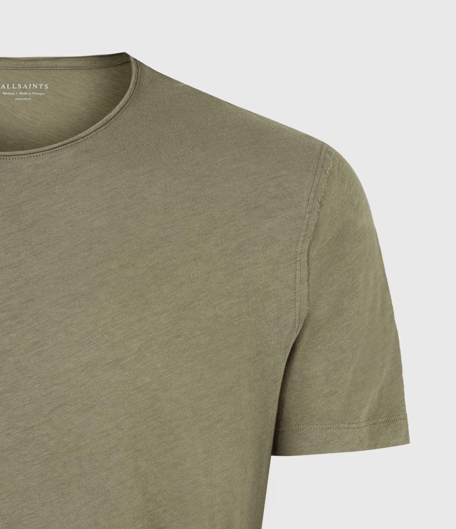 Mens Figure Crew T-Shirt (mangrove_brown) - Image 5