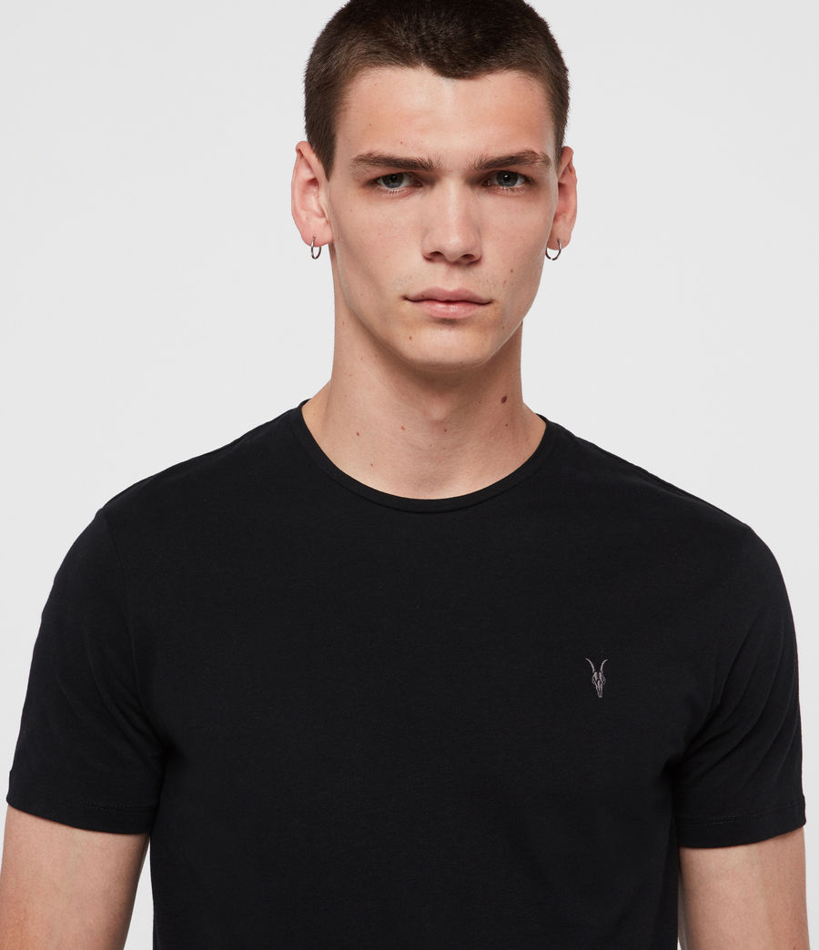 Men's Brace Tonic Crew T-Shirt 3 Pack (black_black_black) - Image 2