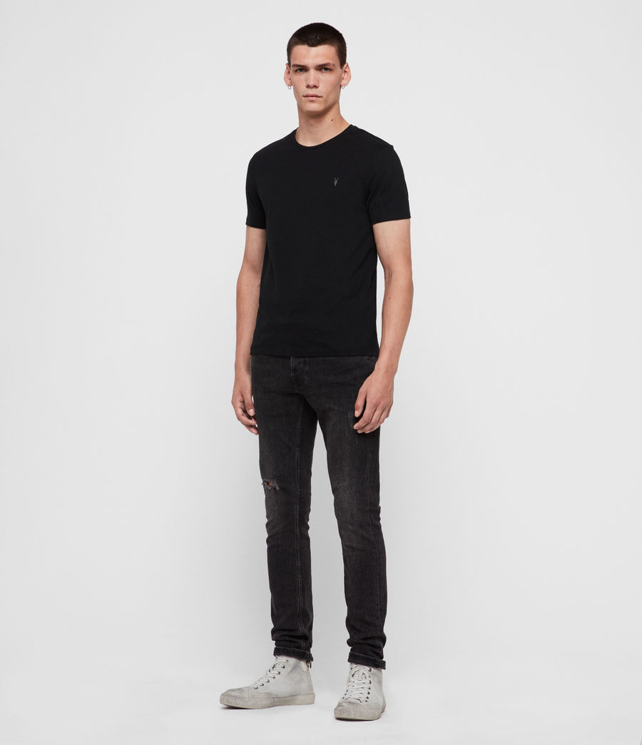 Men's Brace Tonic Crew T-Shirt 3 Pack (black_black_black) - Image 4
