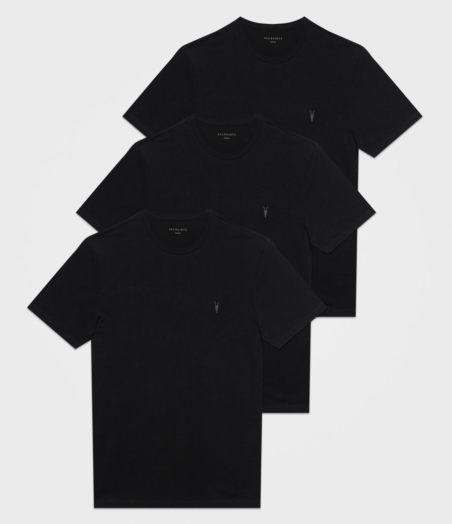 Mens Brace Tonic 3 Pack T-Shirts (black) - Image 1