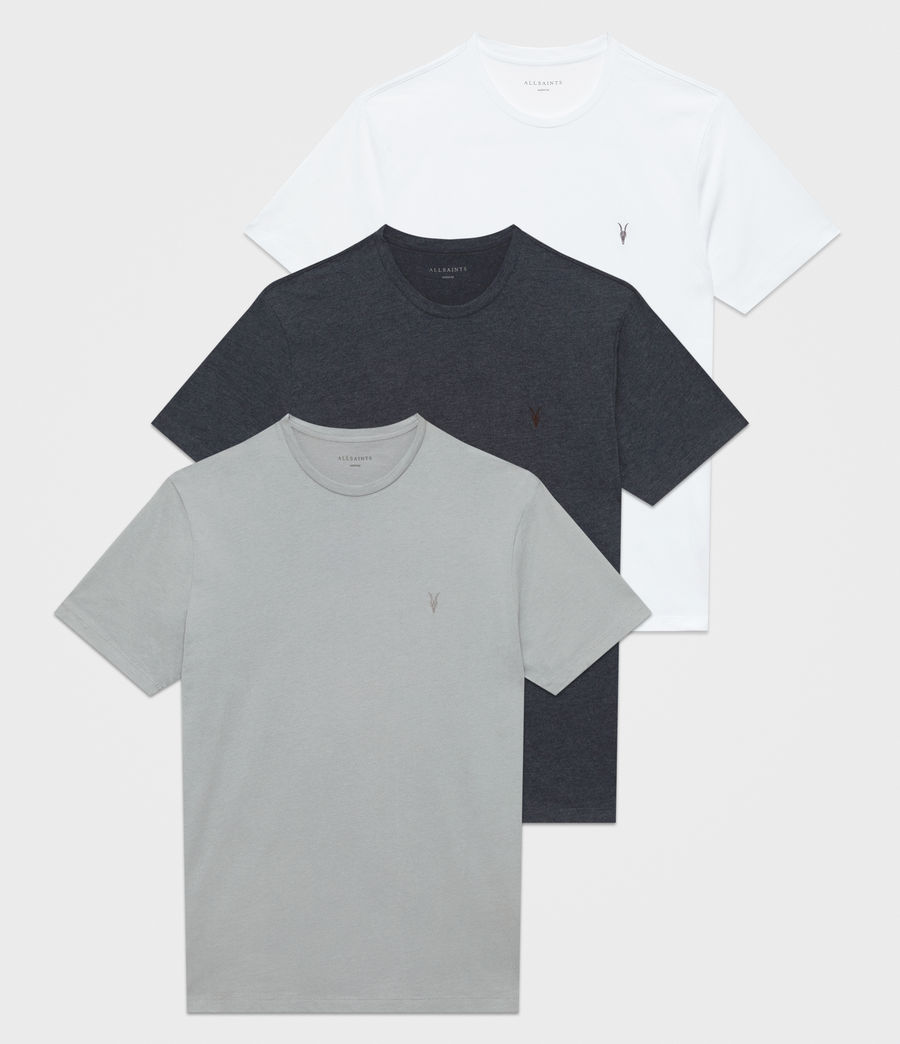 Mens Brace Tonic Crew T-Shirt 3 Pack (blue_ink_white) - Image 1