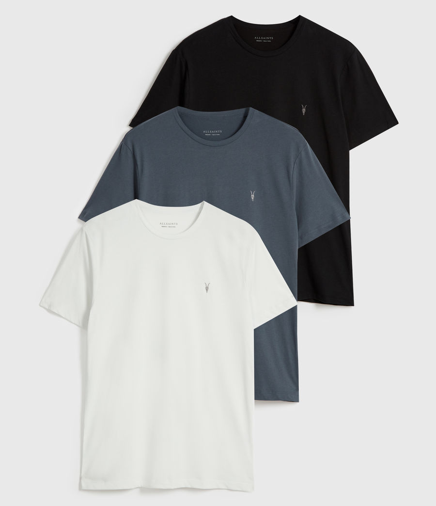 Men's Brace Tonic 3 Pack T-Shirts (blue_black_blue) - Image 1