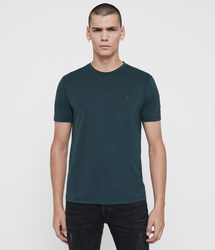 Hombres Pack de 3 Camisetas Brace Tonic (teal_pebble_black) - Image 3