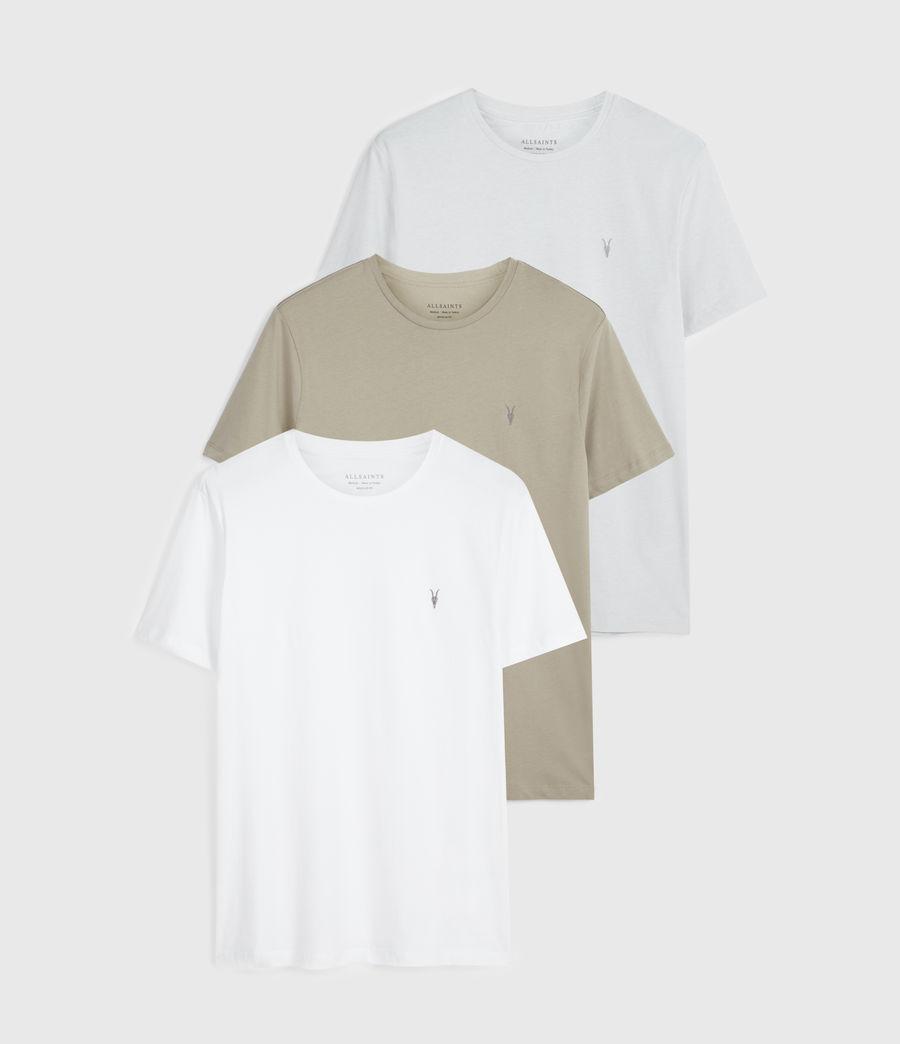 Uomo Brace Tonic 3 Pack T-Shirts (white_blue_green) - Image 1