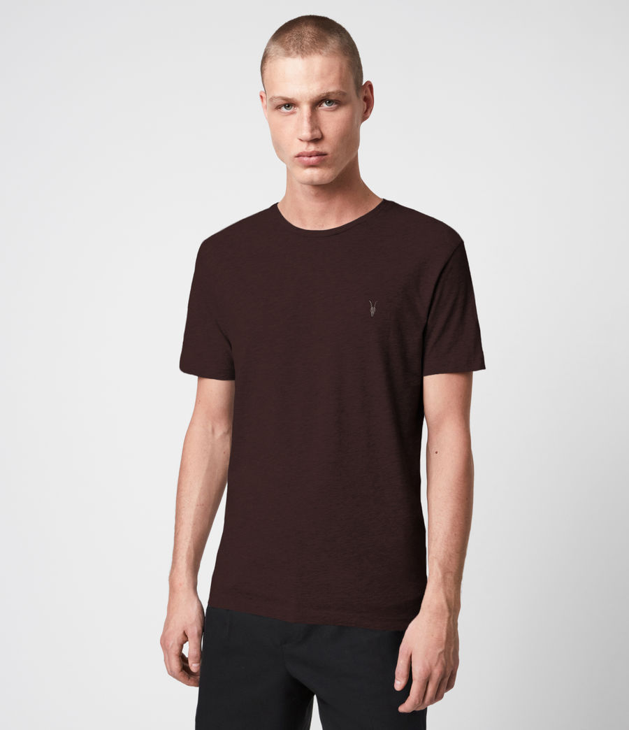 Herren Brace Tonic 3 Pack T-Shirts (oxbld_blk_wd_olive) - Image 2