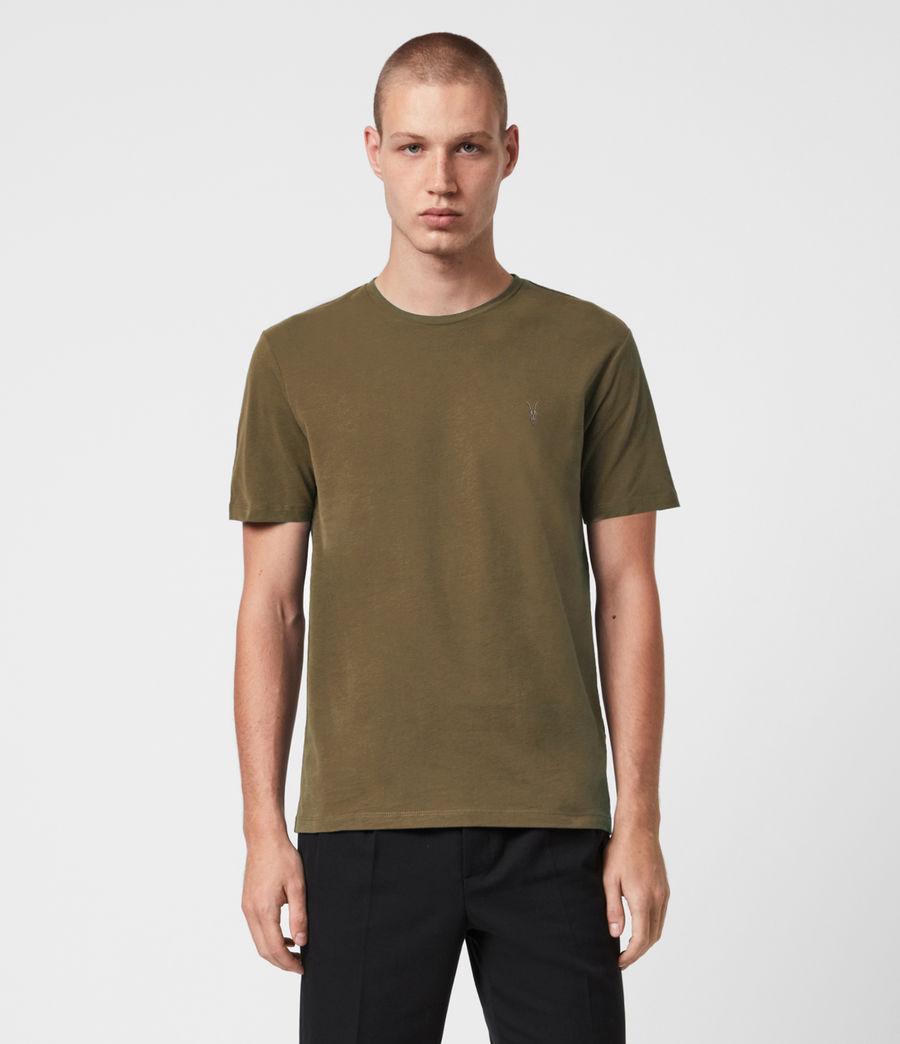 Herren Brace Tonic 3 Pack T-Shirts (oxbld_blk_wd_olive) - Image 3