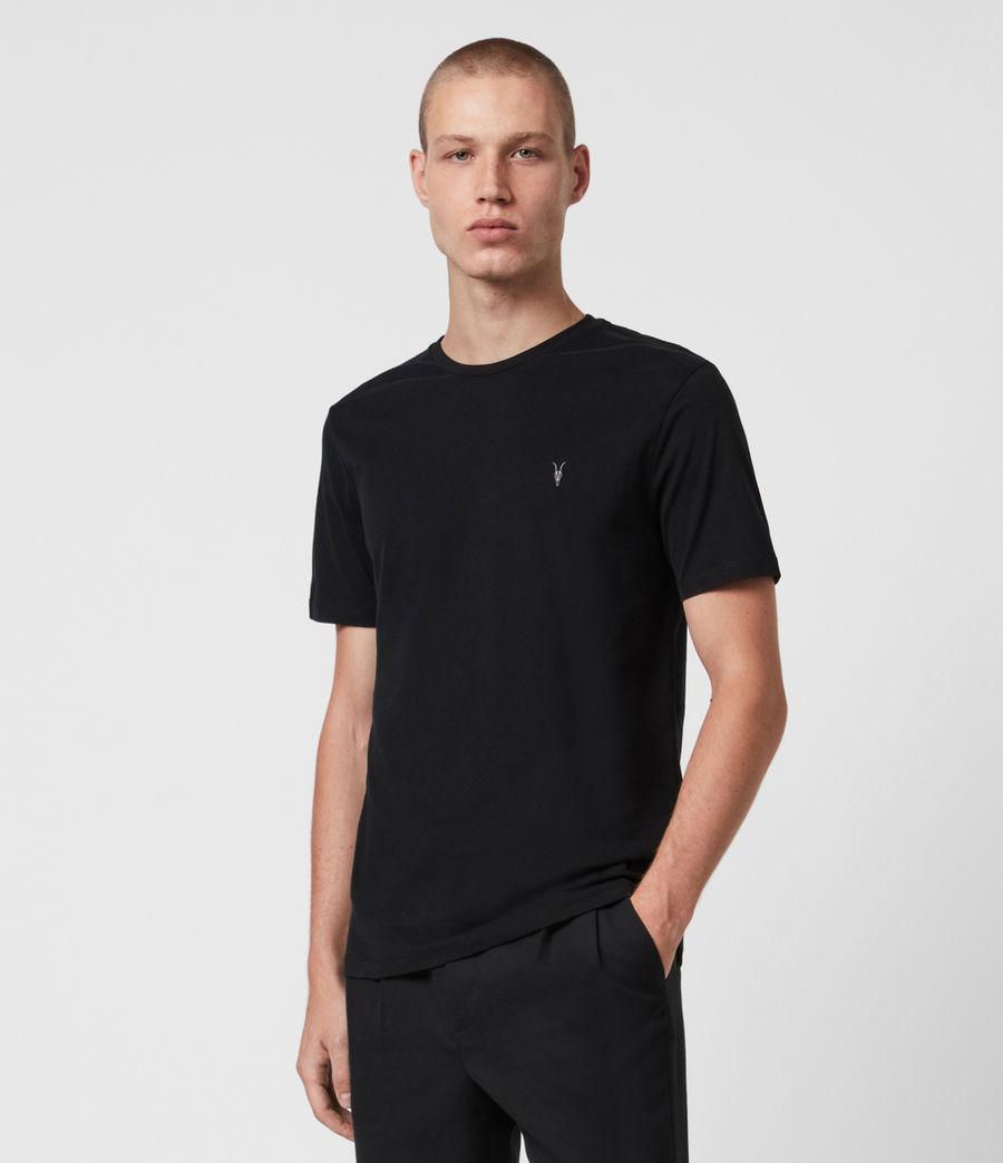 Herren Brace Tonic 3 Pack T-Shirts (oxbld_blk_wd_olive) - Image 4