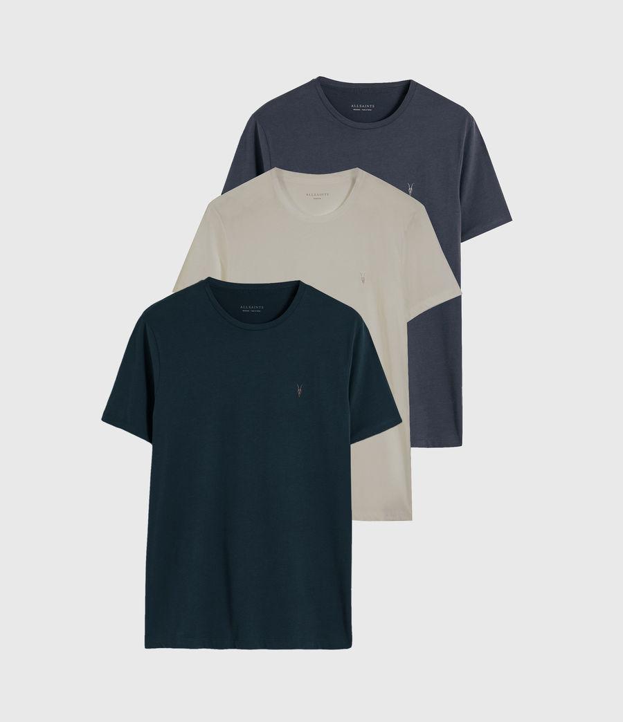 Men's Brace Tonic 3 Pack T-Shirts (sapphire_qrtz_bisq) - Image 1